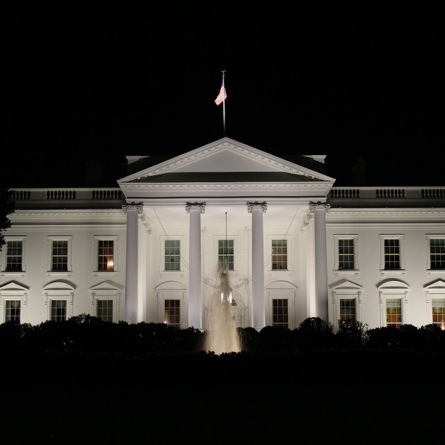 """White House"" stock image"