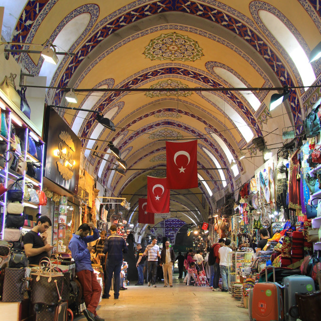"""Grand Bazaar"" stock image"