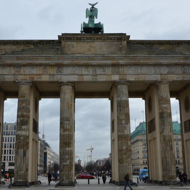 """Berlin : Brandenburger Tor"" stock image"