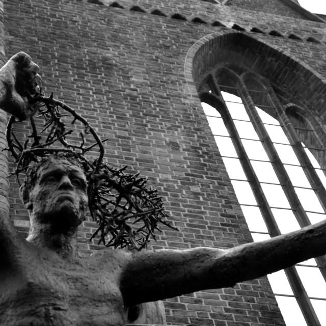 """""""Ruine Franziskaner Klosterkirche"""" stock image"""