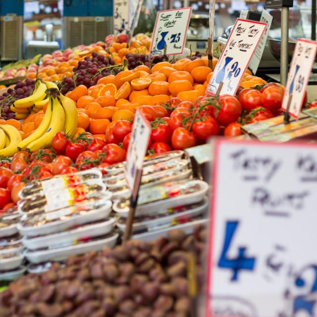 """Fruit and Veg"" stock image"