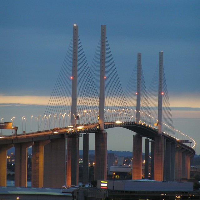 """Dartford crossing"" stock image"