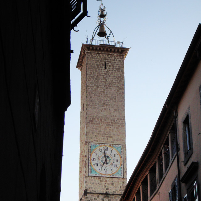 """Italian Clock Tower"" stock image"