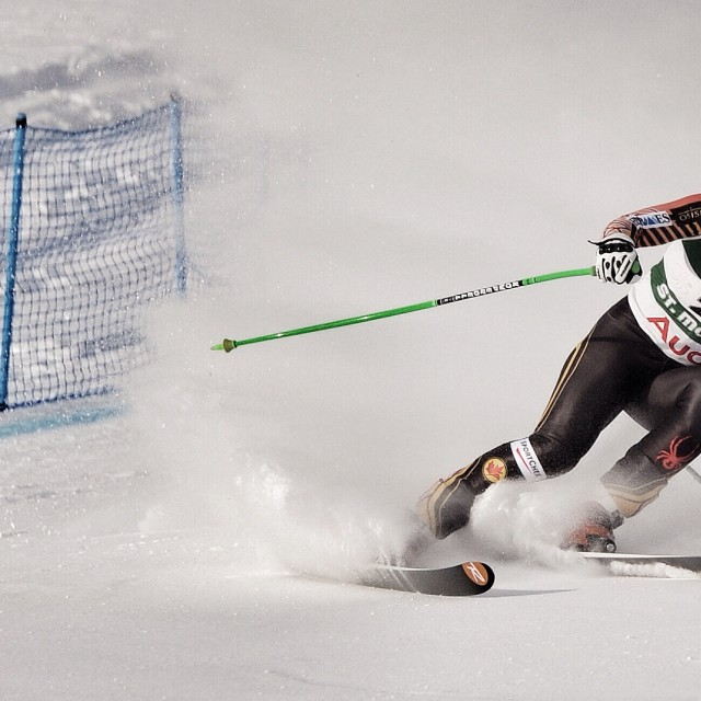 """Europa Cup, St Moritz 1"" stock image"
