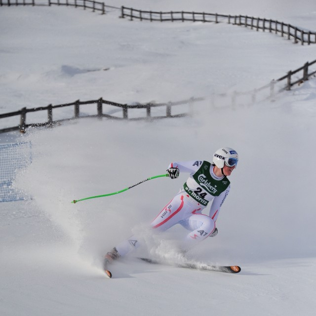 """Europa Cup, St Moritz 2"" stock image"