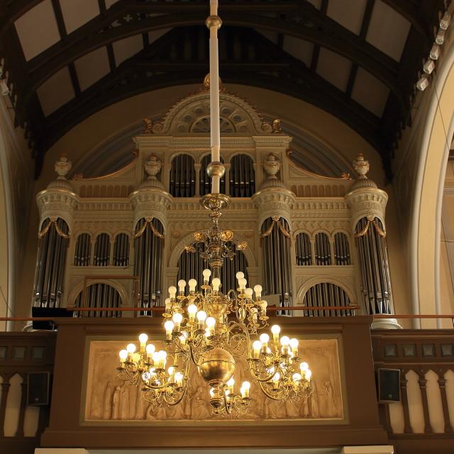"""Church organ"" stock image"