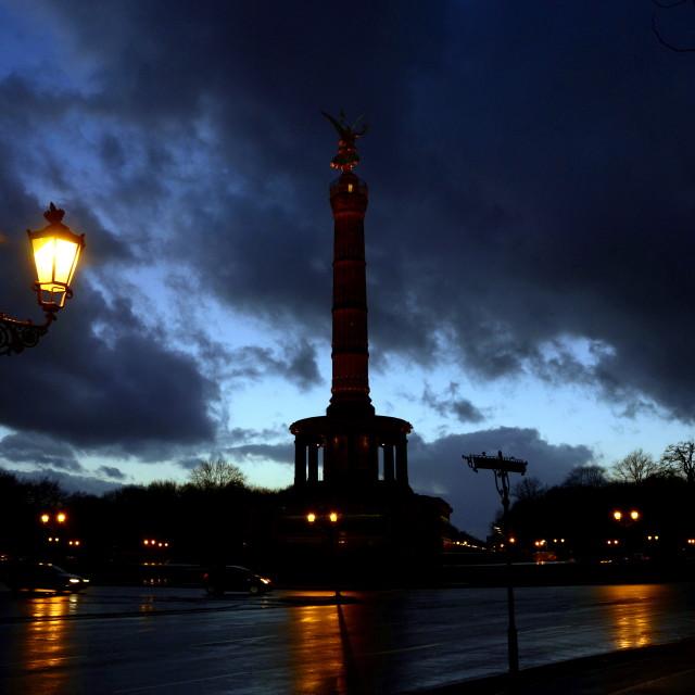"""Siegessäule Berlin Victory Column"" stock image"