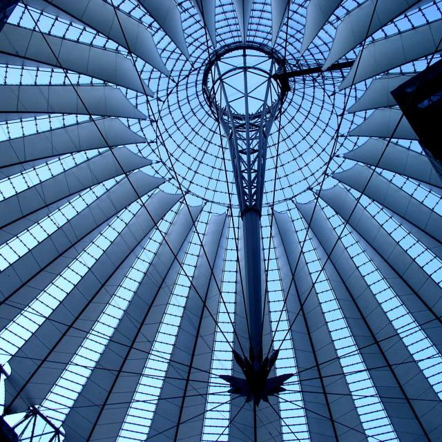 """Potsdamer Platz Cupola"" stock image"