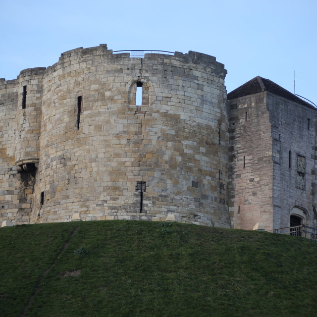 """Clifford's Tower"" stock image"