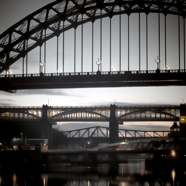 """Tyne Bridge"" stock image"