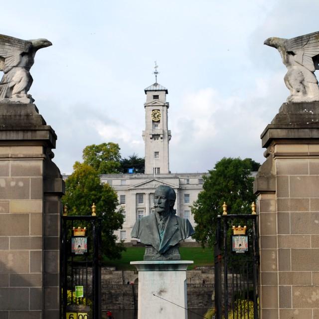 """Trent Building Nottingham University"" stock image"
