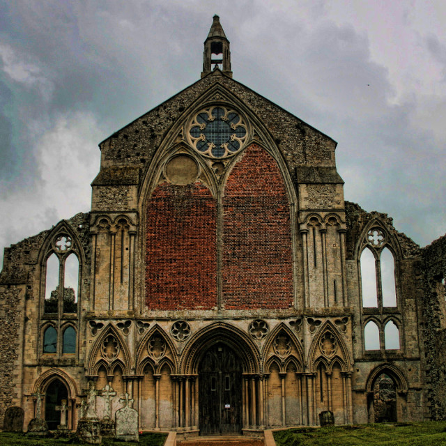 """Binham Priory"" stock image"