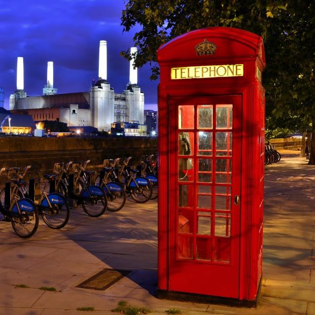 """London Scene"" stock image"