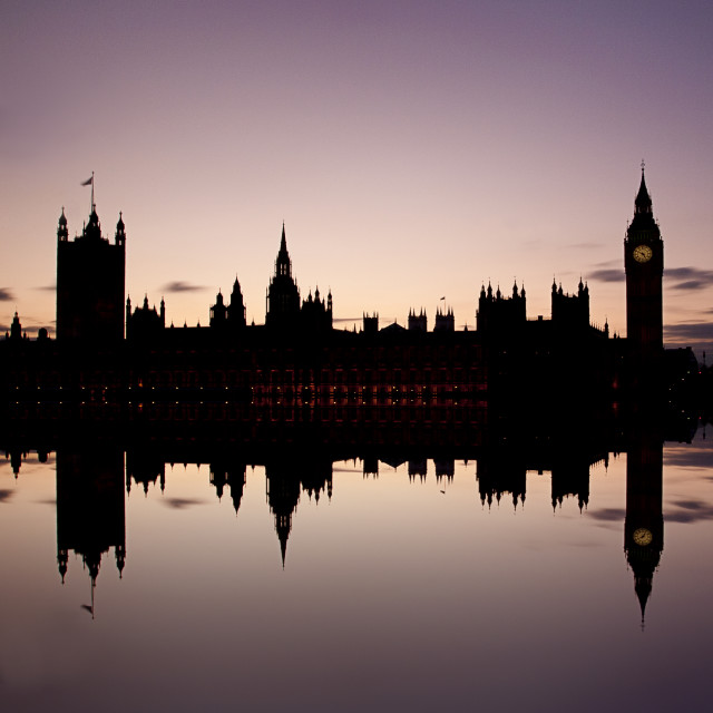 """Houses of Parliament, London"" stock image"