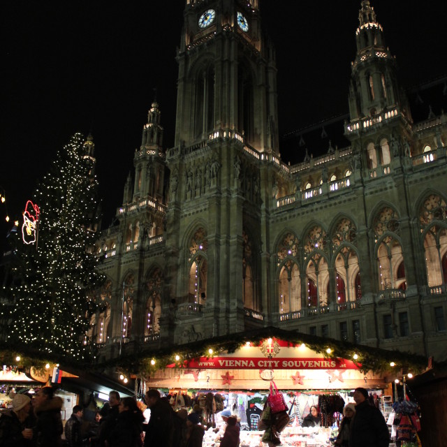 """Christmas In Vienna"" stock image"