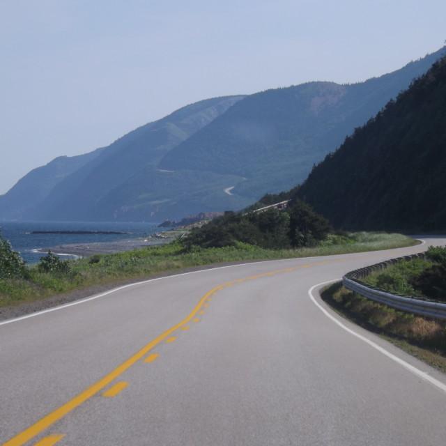 """Winding road"" stock image"