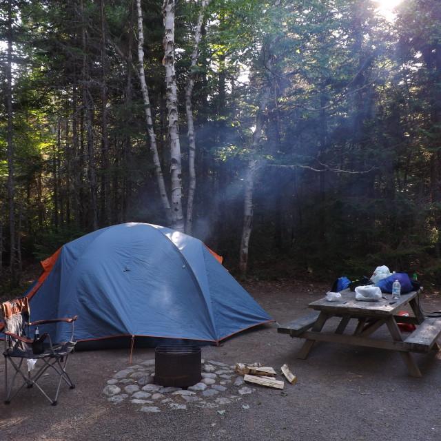 """Campsite"" stock image"
