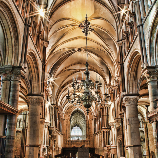 """Canterbury Cathedral"" stock image"