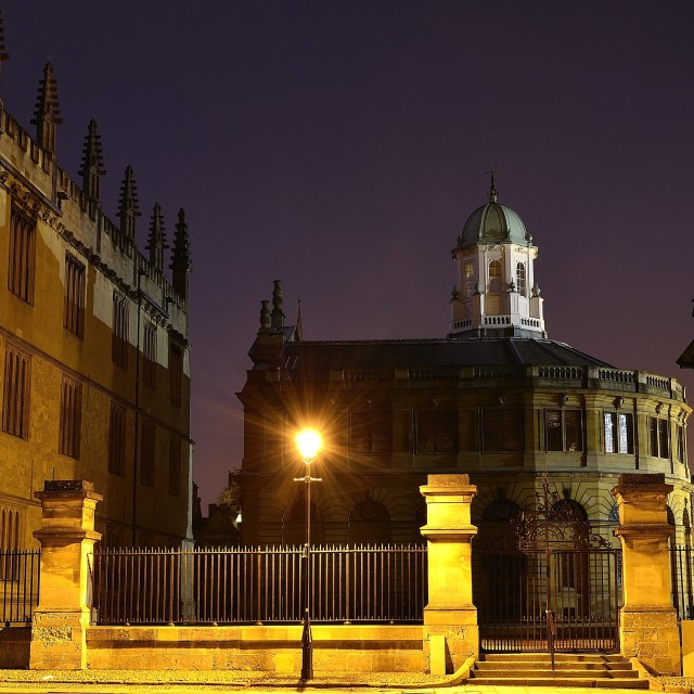 """Sheldonian Theatre, Oxford"" stock image"
