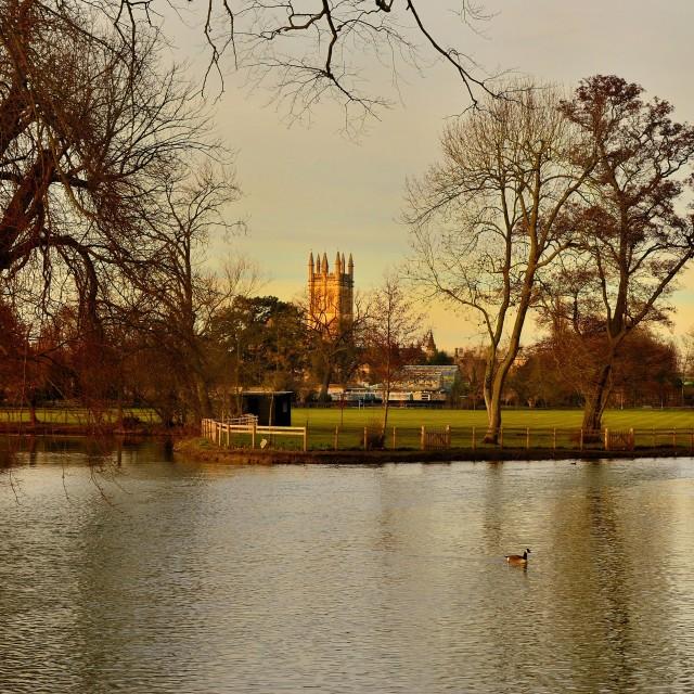 """Oxford spire"" stock image"