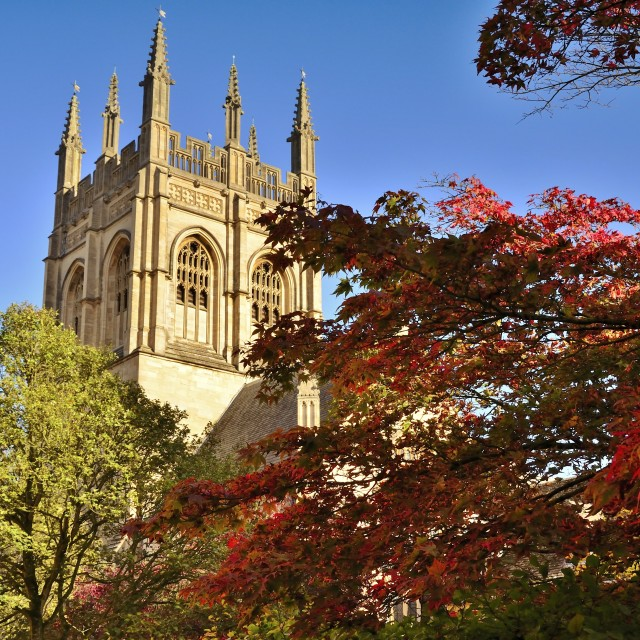 """Autumn in Oxford"" stock image"