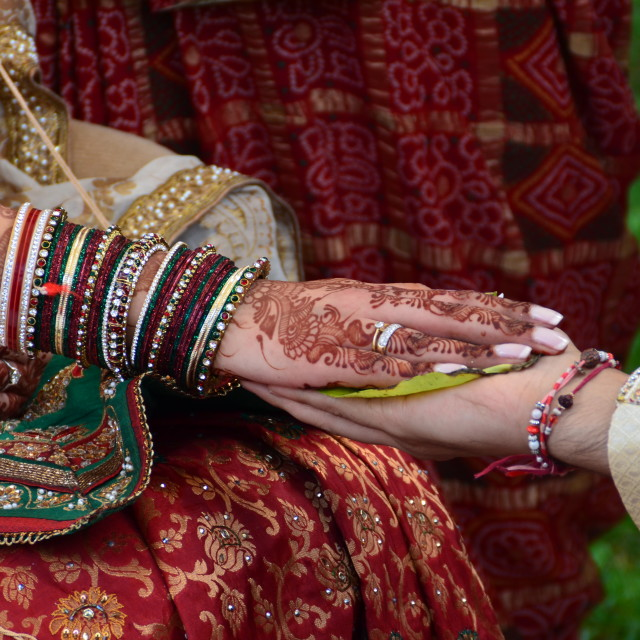 """Hindu Wedding 1"" stock image"