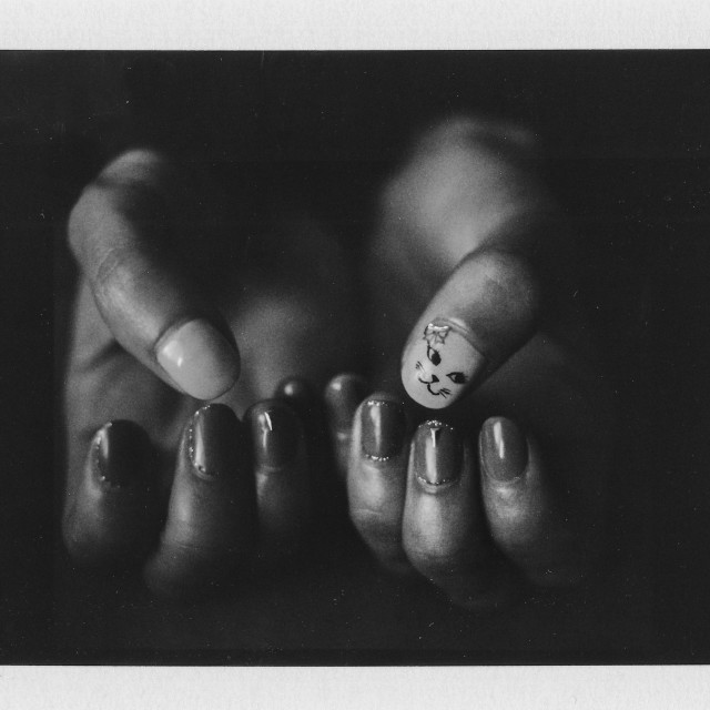 """""""Nail art"""" stock image"""