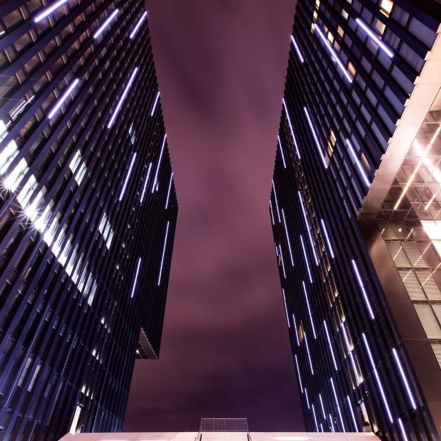 """Hyatt Hotel - Dusseldorf"" stock image"