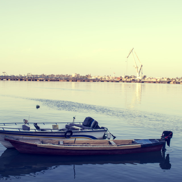 """Arab Sea - Basra, Iraq"" stock image"