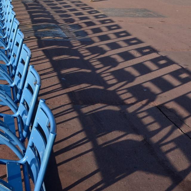 """Row of Seats"" stock image"