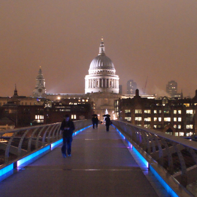 """St. Pauls Cathedral London"" stock image"
