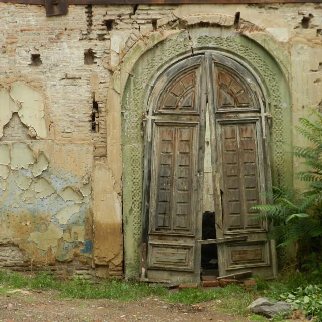 """""""Door to history"""" stock image"""