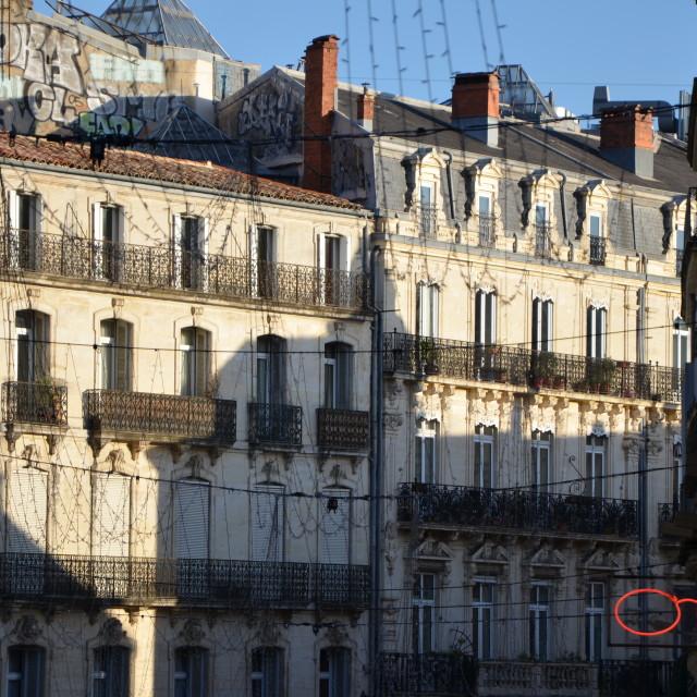 """Rue de La Loge"" stock image"