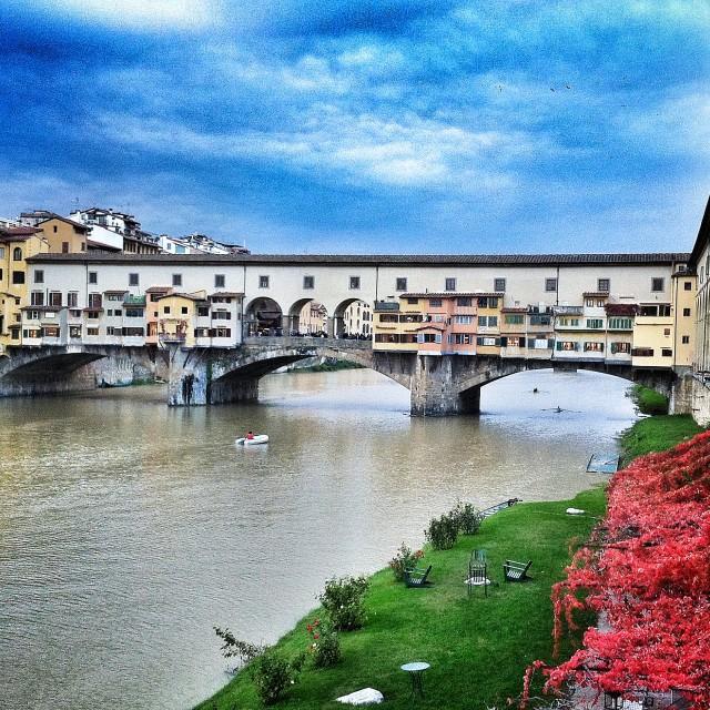 """Vecchio...ponte"" stock image"