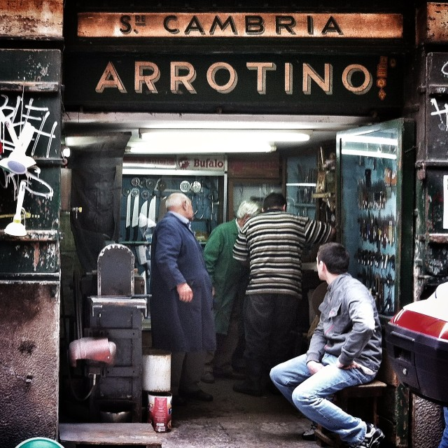 """""""Arrotino"""" stock image"""