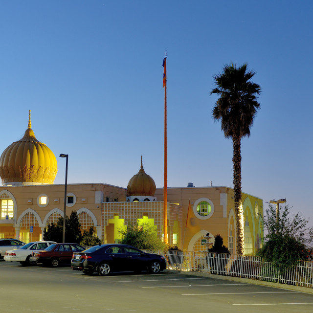 """Sikh Gurdwara temple"" stock image"