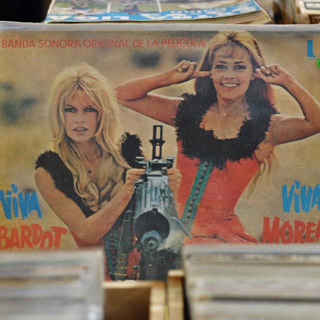 """Viva Bardot, Viva Moreau"" stock image"