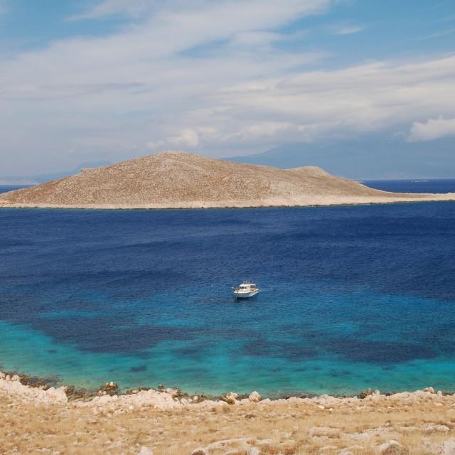 """Nissos island, Greece"" stock image"
