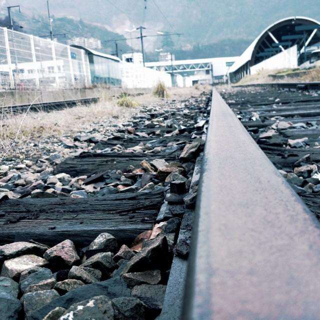 """Trains"" stock image"