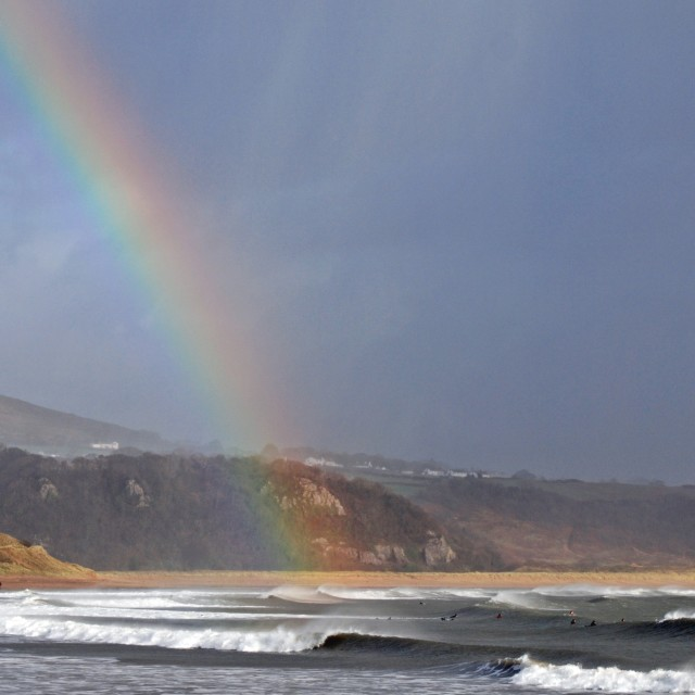 """Gower Rainbow"" stock image"