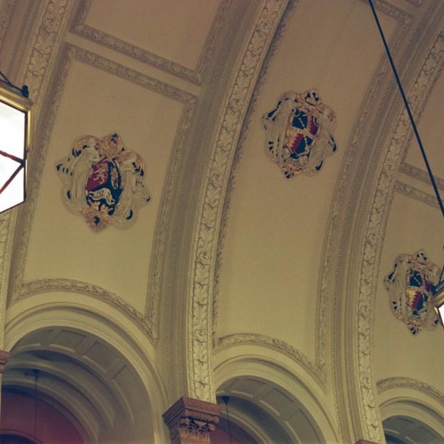 """Aston Webb's ceiling"" stock image"
