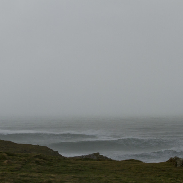 """""""Hercules Storm Fistral, Newquay"""" stock image"""