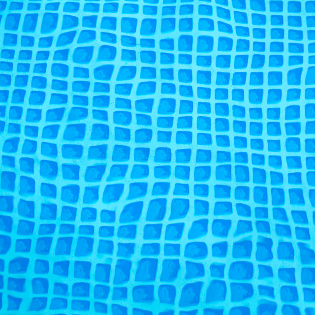 """Bottom of a Wavy Pool"" stock image"