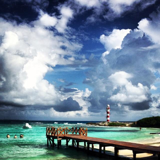 """Caribbean Lighthouse"" stock image"