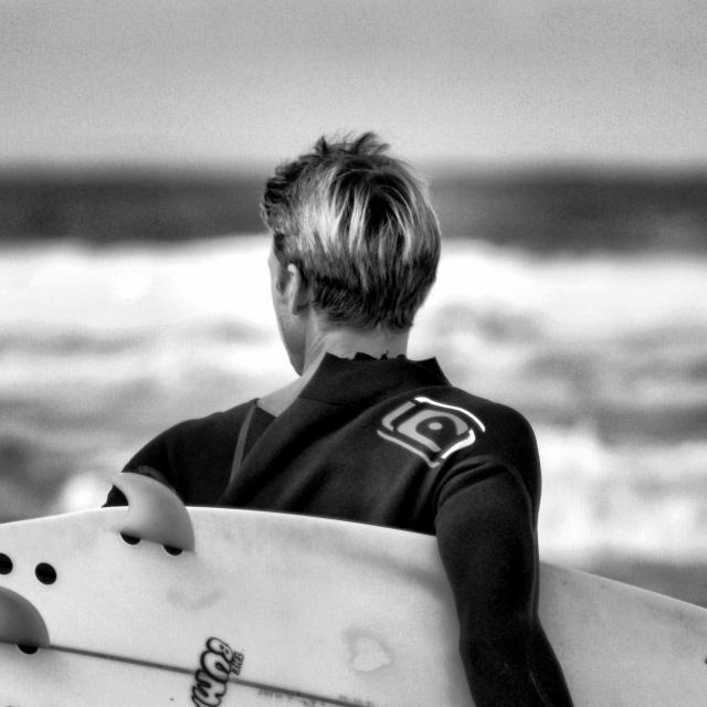 """'Surf Check'"" stock image"
