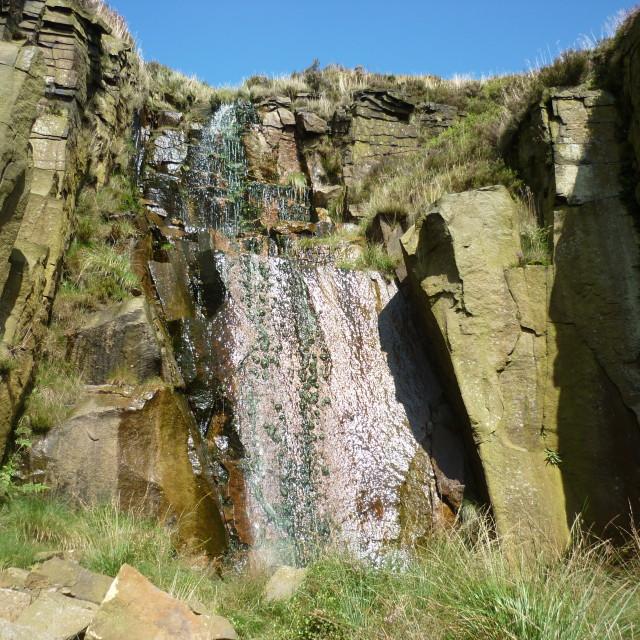 """Secrete Waterfall"" stock image"