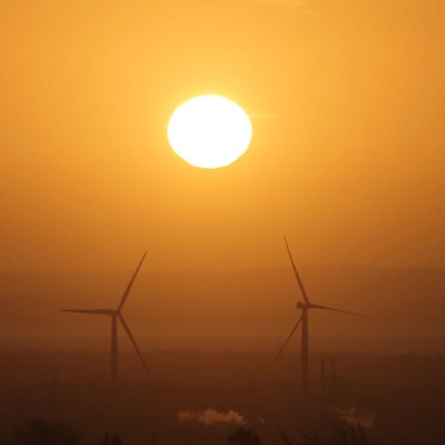 """Turbines"" stock image"