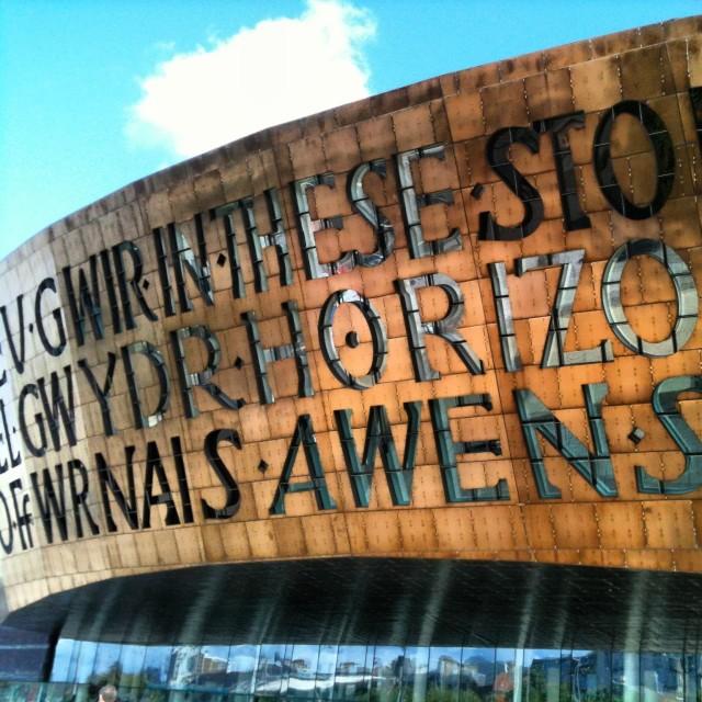 """""""Millennium Centre, Cardiff"""" stock image"""