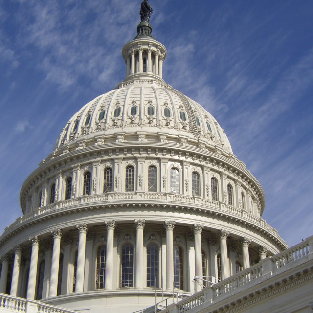 """US Capital Building"" stock image"