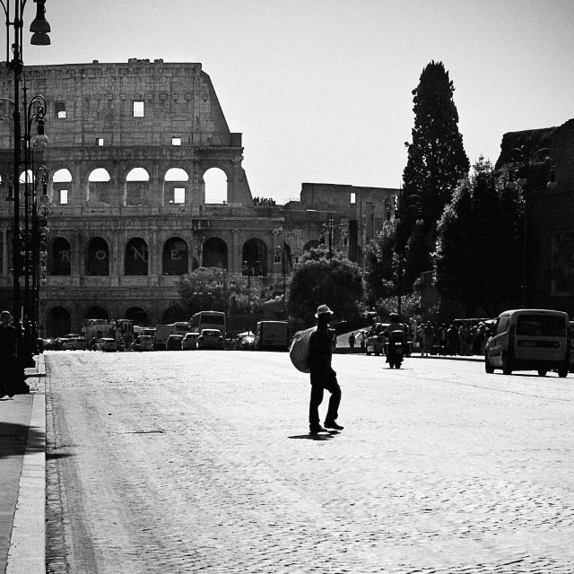 """Colosseum Crossing"" stock image"